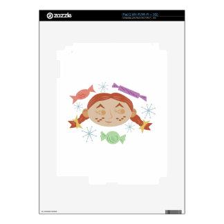 Sugar & Spice Girl Skin For The iPad 2
