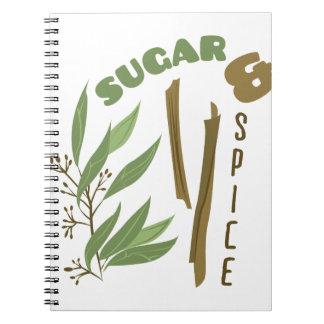 Sugar & Spice Notebook