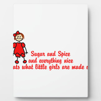Sugar & Spice Plaque