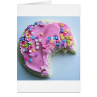 Sugar sprinkle cookie cards