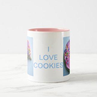 Sugar sprinkle cookie Two-Tone coffee mug