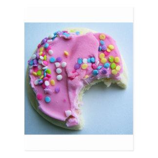 Sugar sprinkle cookie postcard