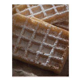 Sugar Sprinkled Brussels Waffles Flyer