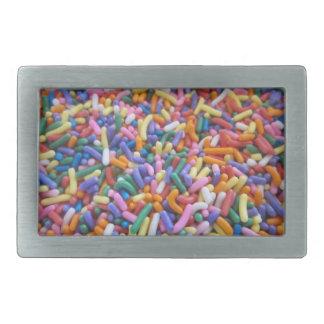 Sugar Sprinkles Belt Buckles