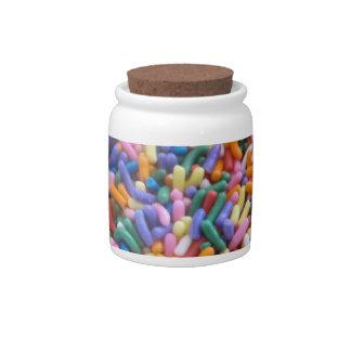 Sugar Sprinkles Candy Jars