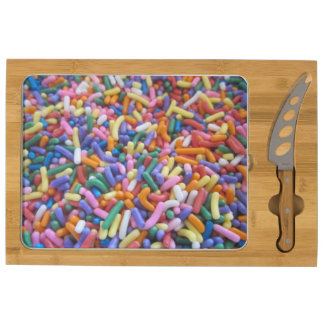 Sugar Sprinkles Cheese Board