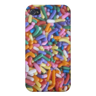 Sugar Sprinkles Cover For iPhone 4