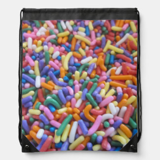 Sugar Sprinkles Drawstring Backpack
