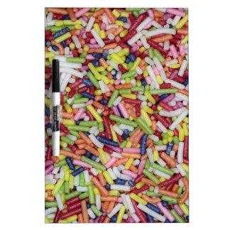 Sugar Sprinkles Dry Erase White Board