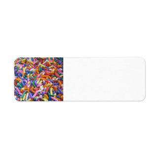 Sugar Sprinkles Label