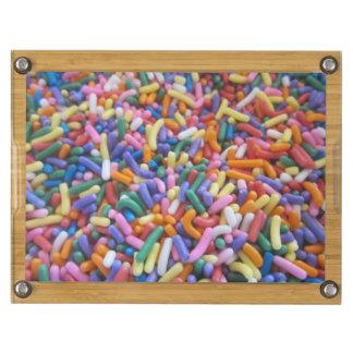 Sugar Sprinkles Rectangular Cheese Board