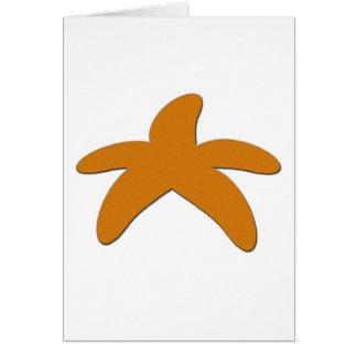 Sugar Starfish Greeting Card