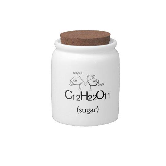 Sugar Sucrose Saccharose Science Chef Jar Candy Jar