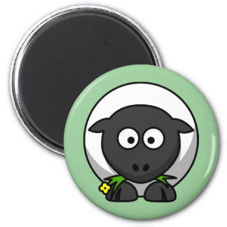 Sugar the Cute Cartoon Sheep Magnet