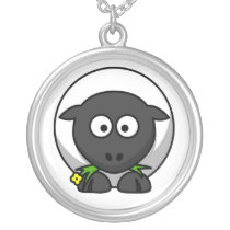 Sugar the Cute Cartoon Sheep Novelty Pendant