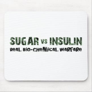 Sugar vs Insulin Mouse Pad