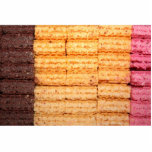 Sugar Wafer Cookies Acrylic Cut Out