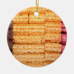 Sugar Wafer Cookies Christmas Tree Ornament