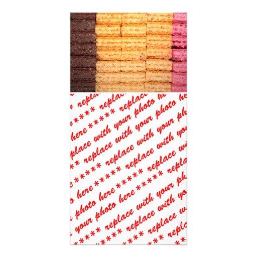 Sugar Wafer Cookies Photo Card