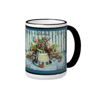 Sugar Wedding Anniversary: Jupigio-Artwork.com Ringer Coffee Mug