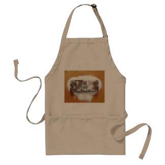 sugar word apron