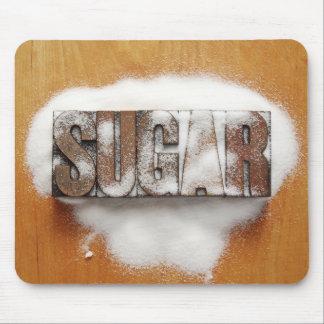 sugar word mousepad