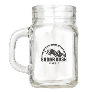 Sugarbush Vermont Mason Jar