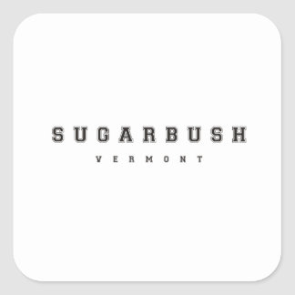 Sugarbush Vermont Square Sticker