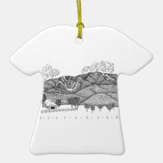 Sugarbush Vermont tshirt Christmas Ornament
