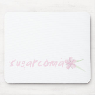 SUGARcoma Lotus Mouse Pad