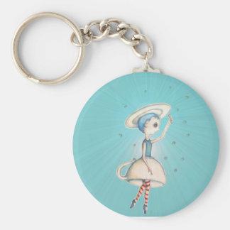 sugarcube ballerina keychain