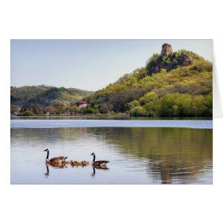 Sugarloaf Geese Card