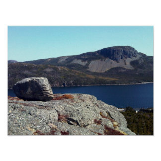 Sugarloaf Hill from Lookout Cliff Poster