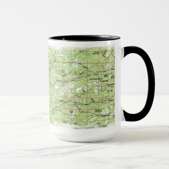 Sugarloaf / Indian Peaks map mug