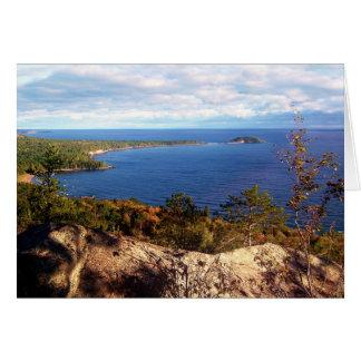 Sugarloaf Mountain In Autumn Card