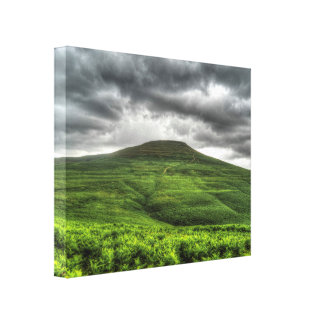 Sugarloaf mountain in Wales Canvas Print