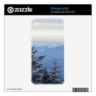 Sugarloaf Mountain on the Horizon in Maine iPhone 4 Skin