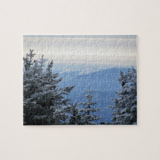 Sugarloaf Mountain On The Horizon Jigsaw Puzzle