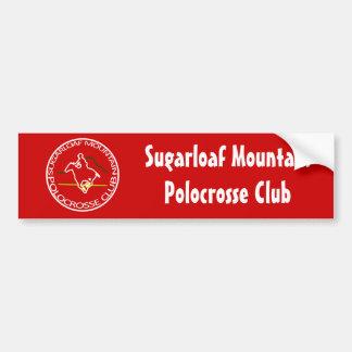 Sugarloaf Mountain Polocrosse Club Logo Sticker