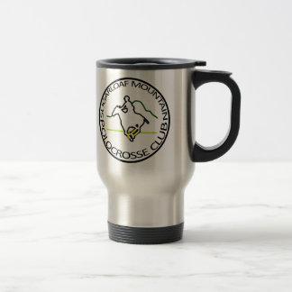 Sugarloaf Mountain Polocrosse Club Logo Travel Mug