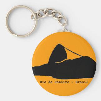 sugarloaf mountain . Rio . Brasil Key Chain