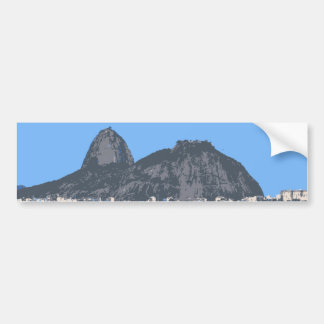 Sugarloaf Mountain, Rio Bumper Sticker