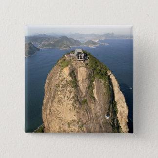 Sugarloaf Mountain, Rio de Janeiro, Brazil Button