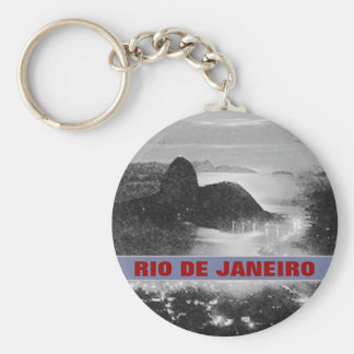 SugarLoaf rock mountain ~ Rio . Brasil Keychain