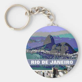 SugarLoaf rock ~ Rio Brasil Key Chain