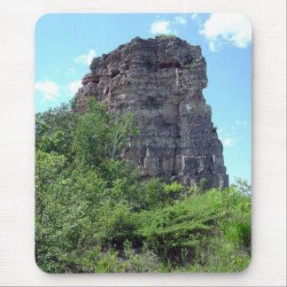 Sugarloaf Rock - Winona, MN Mouse Pad