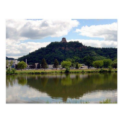 Sugarloaf - Winona, MN Postcard