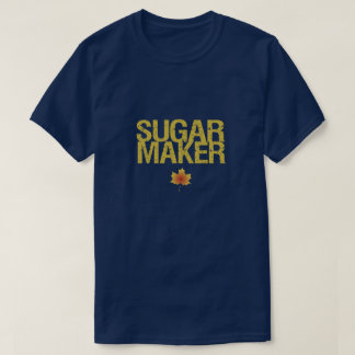 Sugarmaker with maple leaf T-Shirt