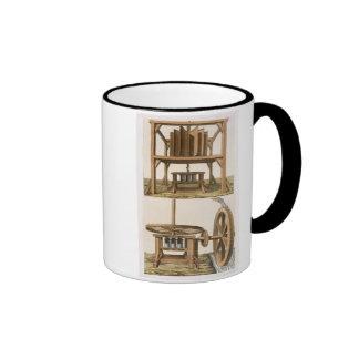 Sugarmills, Antilles (colour engraving) Mugs