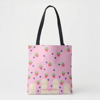 sugarparade Berry Flush Tote Bag